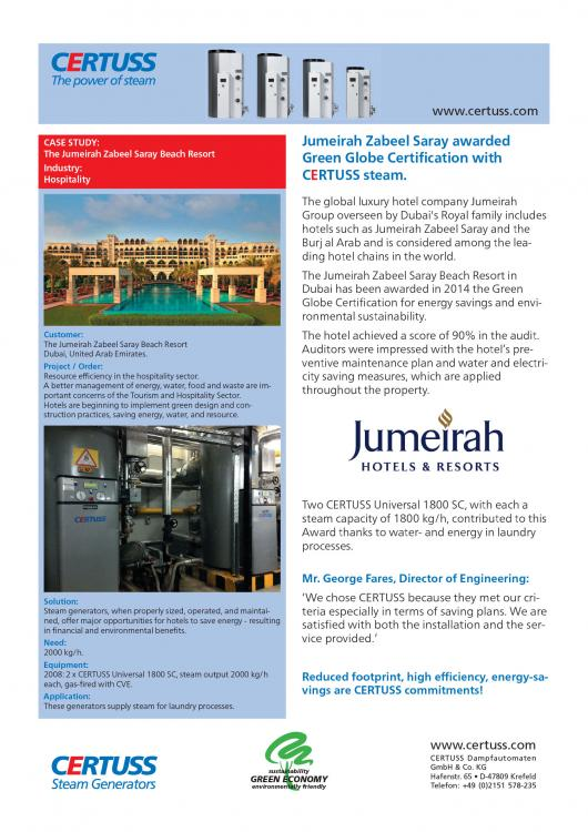 Jumeirah Hotel GB